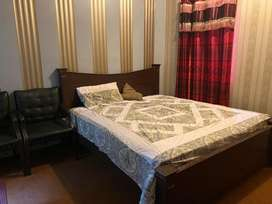 Fully furnished flat for rent in johar town