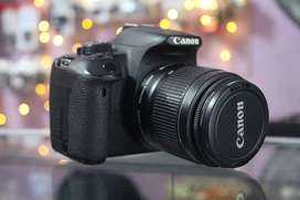 Ready Kamera Canon 700D kit 18-55mm IS II