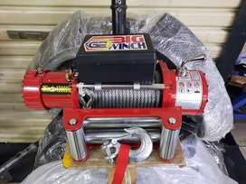 Winch 13000 lbs 6,5 ton perlengkapan offroad jimny taft hilux triton