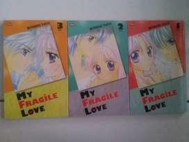 Komik my fragile love 1-3 T