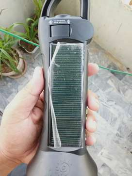 Imported solar torch