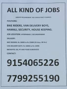 call us for driver job