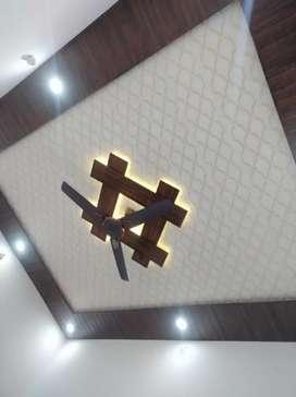 PVC False ceiling & Tv Cabinet