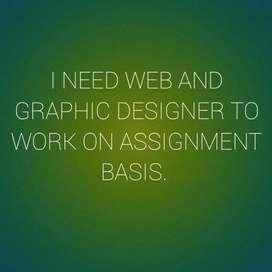 Need web and graphic designer