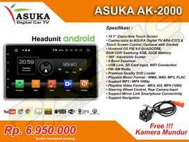 HEADUNIT ANDROID ASUKA AK-2000