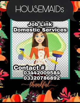 We provide housemiads cook's Driver's Attendants nanny's Babysitters