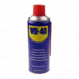 WD 40 With Free Silicone  Small Medium and Large Available