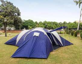 Camping Tents Available in different sizes, (3-4, 6, 12-15 Person)