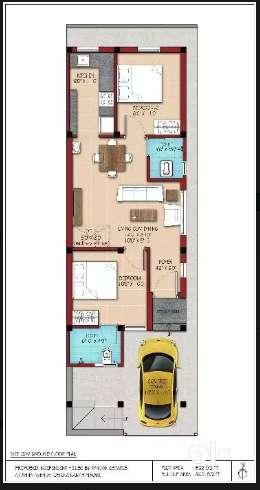 Duplex Individual 2BHK house for sale near Kancheepuram