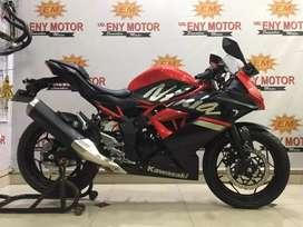 Siap pakai Kawasaki Ninja 250 RR Mono th 2019 km 731 waw mantab