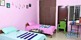 3BHK full furnished flat , its Sharing flat for working