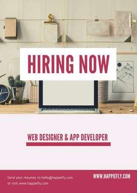WEB DESIGNER & APP DEVELOPER