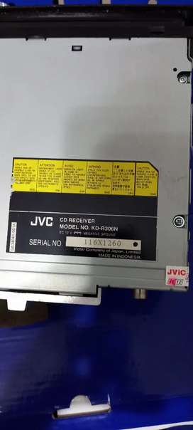 Tape mobil merk JVC