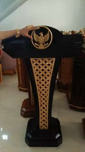 mimbar podium masjid mimbar presiden