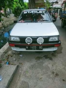 Di Jual Mobil Kesayangan  Toyota Starlet th'86