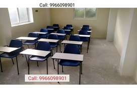 30 Study Chairs with Writing Pad
