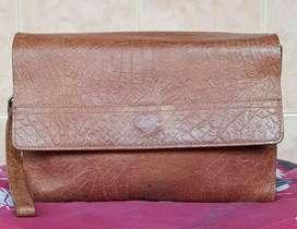 Clutch/handbag Unbrand Full Leather