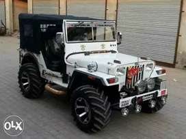 Open Jeep modify