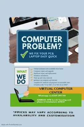 Desktop and laptop service