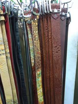 Leather belt's on German Leather Product's