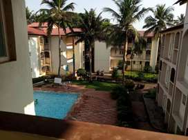 Apartment for sale ,walkable distance from beach and fort Aguada.