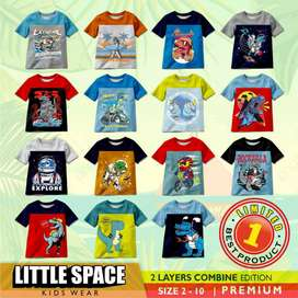 Grosir Kaos Anak Brand Little Space