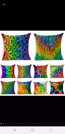 Ready stock cushion cover import/3D sarung bantal sofa kekinian