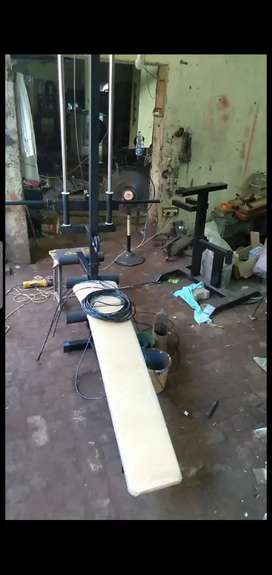 ALL TYPES OF GYM EQUIPMENT AVAILABLE