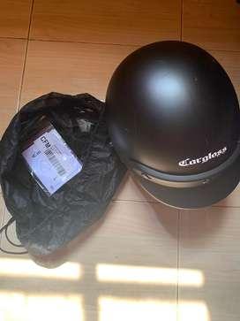 Helm Cargloss Black Doff