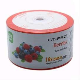 DVD-R DVDR DVD bank/Kosong GT Pro Berries 16x 4.7Gb