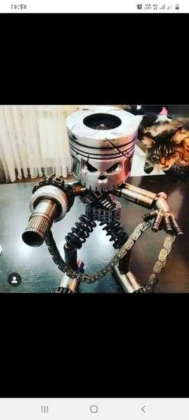 Cat pelek dan body motor
