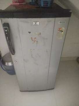 Running and good condition fridge