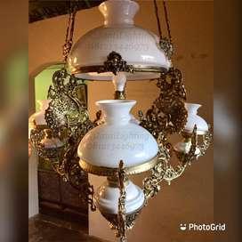 Lampu gantung katrol betawi kerek cabang OVJ klasik antik repro
