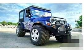 Blue Hunter modified jeep