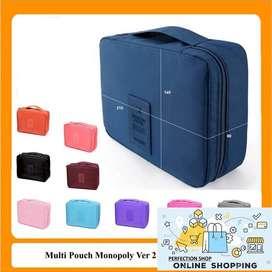 PROMO MULTI POUCH VER 2 / Pouch KOSMETIK / Cosmetic organizer pouch /