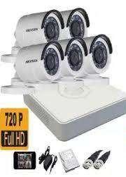 5 HD CCTV Camera installation