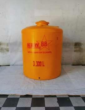 Tandon air 1000 liter Jogja bahan plastik