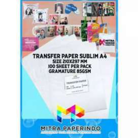 Kertas transfer paper A4 85gsm