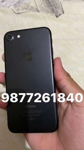 Iphone 7 , 32 gb , matt black