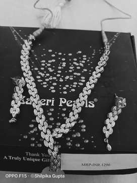 American diamond neclace sets