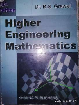 Higher Engineering Mathematics (B.S.Grewal)