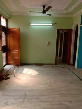 2 Bhk semi furnished, L shape balcony , spacious with roof and parking
