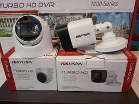 Paket CCTV Turbo HD Hikvision Dahua Terlengkap Garansi Resmi