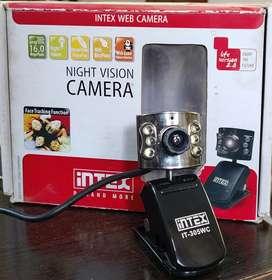 intex USB web camera with built in mic