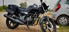 Unicorn 150 cc bike colour black nice condition well maintained,