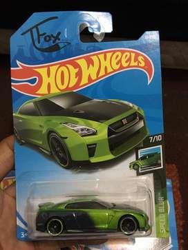 Hotwheels nissan gt-r R35