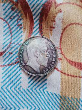 One ruppes coin