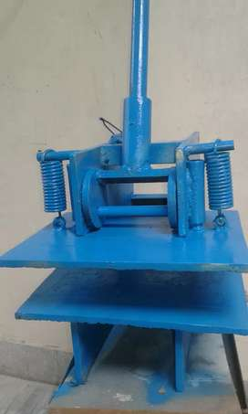 Havai Chapal making machine complete plant high carban steel wt  60 kg