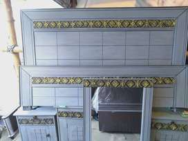 Double Bed dressing table and 2 side tables newde