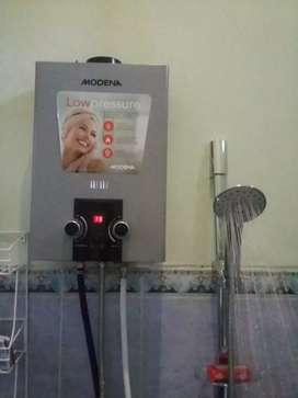 Water Heater Gas Modena # Mandi Air Hangat Lux